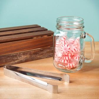 mason jar after-dinner mint holders