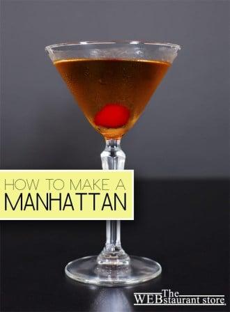How to make a manhattan recipe for manhattan cocktail for Manhattan cocktail