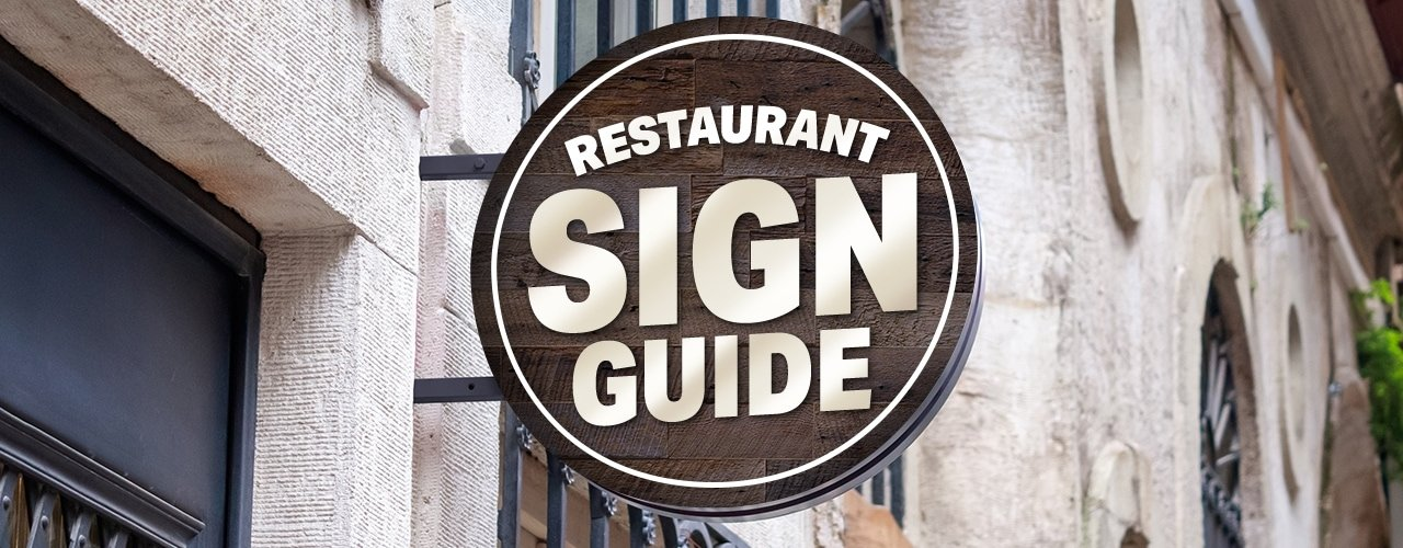 Attract Diners with Your Outdoor Restaurant Sign