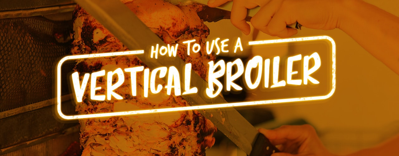 How to Make Gyro Meat Using a Vertical Broiler