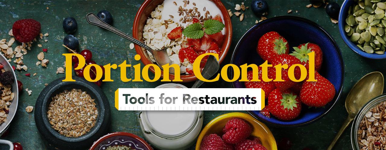Food Portioning For Restaurants