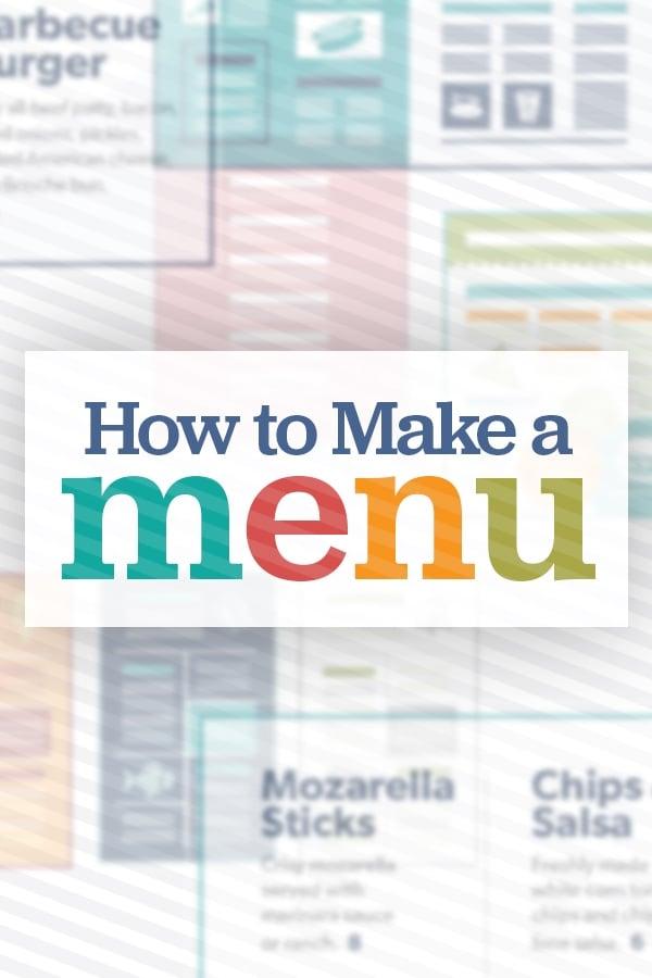 How to Design a Menu: A Definitive Guide
