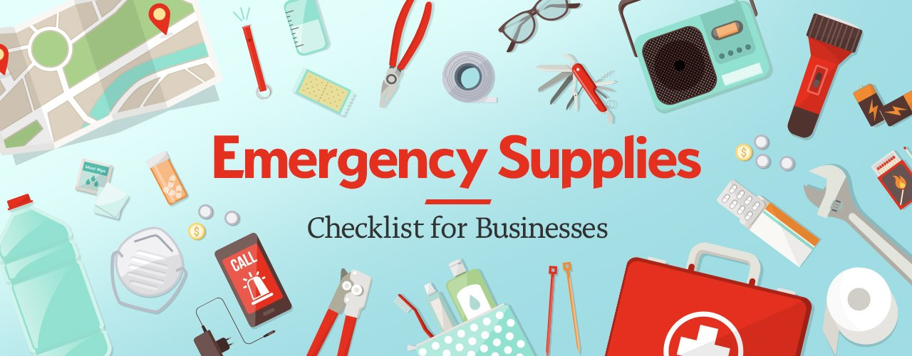 Emergency Supplies List For Businesses