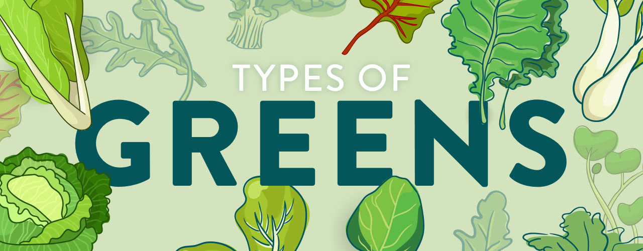 Different Types of Greens
