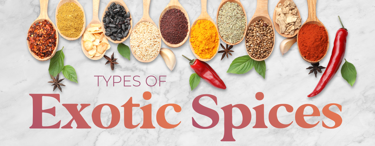 Types of Spices From Around the World
