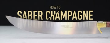 How to Saber Champagne