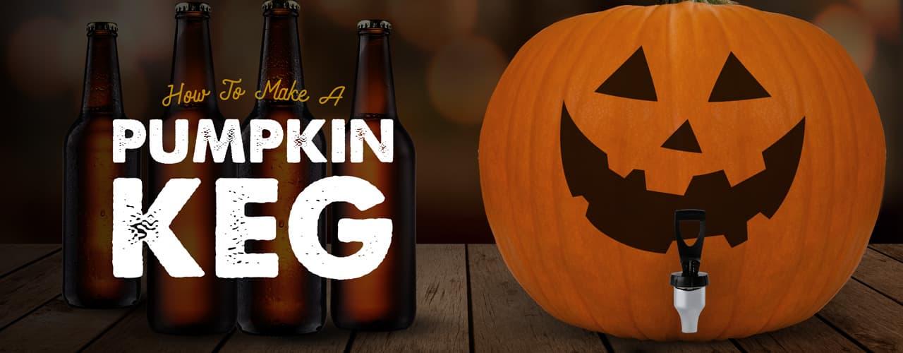 how to make a pumpkin beer keg halloween party ideas