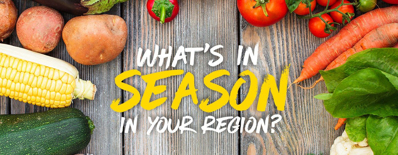 Seasonal Produce Guide: Fruits & Vegetables in Season for You