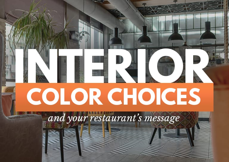 The Best Restaurant Colors And 5 Restaurant Color Schemes