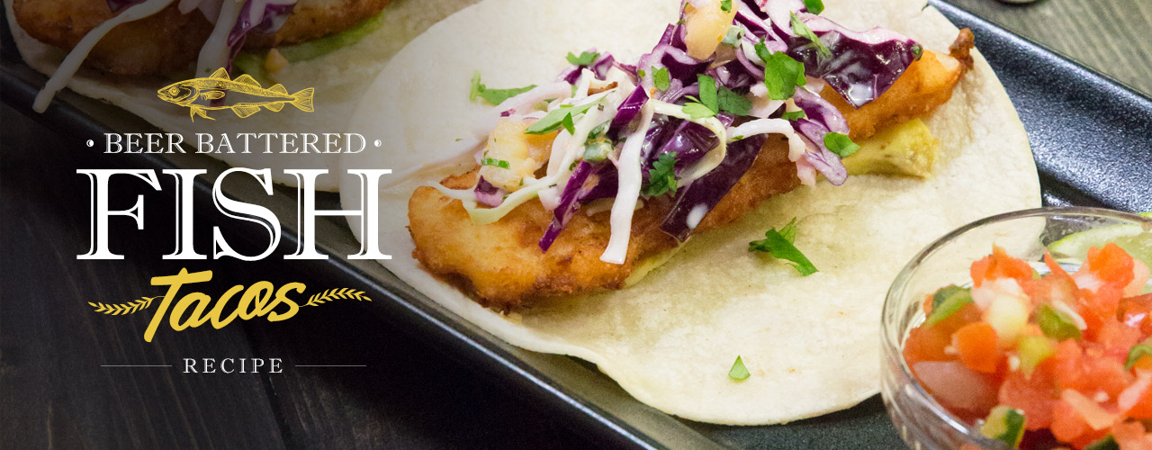 Beer battered fish tacos recipe how to make fish tacos for How to prepare fish tacos