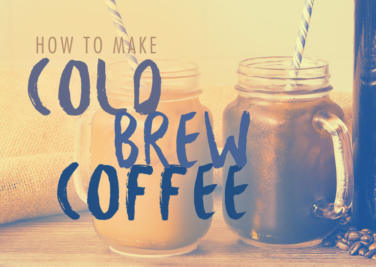 how to make cold brew instant coffee