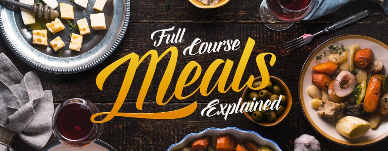 2 course lunch menu examples