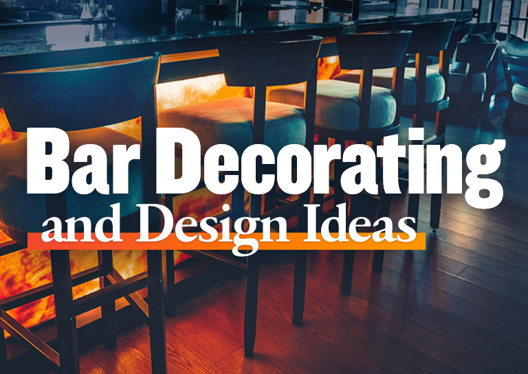 Commercial Bar Decor & Design: Tips, Ideas, & More
