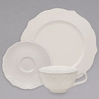 10 Strawberry Street Dahlia White New Bone China Dinnerware