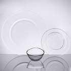 10 Strawberry Street Hammered Glass Dinnerware