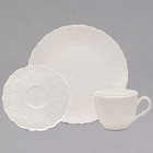 10 Strawberry Street Valentina White New Bone China Dinnerware