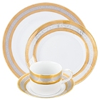 10 Strawberry Street Elegance Porcelain Dinnerware