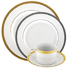 10 Strawberry Street Luxor Porcelain Dinnerware