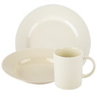 10 Strawberry Street Royal Cream Porcelain Dinnerware