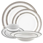 10 Strawberry Street Sophia Porcelain Dinnerware