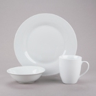 10 Strawberry Street Catering Pack White Porcelain Dinnerware