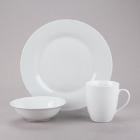 10 Strawberry Street Catering Pack White Porcelain Dinnerware