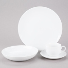 10 Strawberry Street Classic Coupe White Porcelain Dinnerware