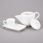 10 Strawberry Street Izabel Lam Pearls Bright White Porcelain Dinnerware