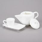 10 Strawberry Street Izabel Lam Pearls Bright White Porcelain Dinnerware