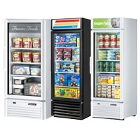 1 Section Glass Door Merchandising Freezers