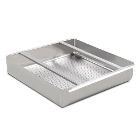 Pre-Rinse Baskets and Detachable Drainboards