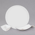 American Metalcraft Prestige White Porcelain Dinnerware and Displayware
