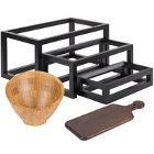 American Metalcraft Wooden Dinnerware and Displayware