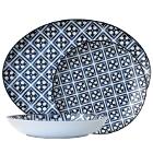 Arcoroc Candour Azure Porcelain Dinnerware by Arc Cardinal