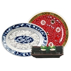 Asian-Inspired Melamine Dinnerware
