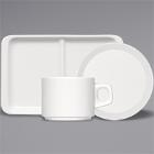 Bauscher B1100 Bright White Porcelain Dinnerware