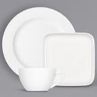 Bauscher Bonn Bright White Porcelain Dinnerware