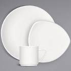 Bauscher Options Bright White Porcelain Dinnerware