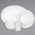Bauscher Come4Table Bright White Porcelain Dinnerware