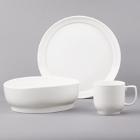 Bon Chef Mid Century White Porcelain Dinnerware