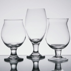 Belgian, Tulip, and Goblet Beer Glasses