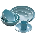 Blue Jade Melamine Dinnerware