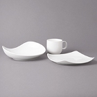 Bon Chef Globe White Porcelain Dinnerware