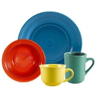 CAC Tango Colorful Porcelain Dinnerware