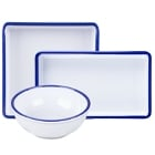 Cal-Mil Enamelware Melamine Dinnerware and Displayware