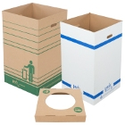 Disposable Cardboard Trash Cans