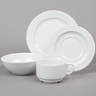 Arcoroc Candour White Porcelain Dinnerware by Arc Cardinal