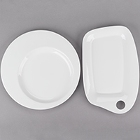 Chef & Sommelier Caracter White Porcelain Dinnerware by Arc Cardinal