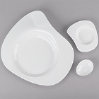 Chef & Sommelier Divinity White Porcelain Dinnerware by Arc Cardinal