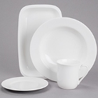 Chef & Sommelier Embassy White Porcelain Dinnerware by Arc Cardinal